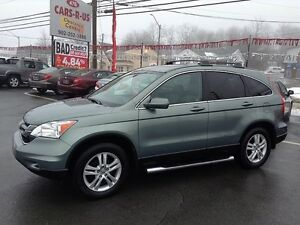 2011 Honda CR-V EX-L AWD- 2 year Unlimited km warranty included!