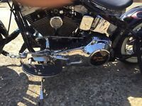 Harley Davidson Softail Custom Boorman Bobber Reduced