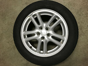 4 Pneus d'été Michelin et roues en alliage (Subaru)