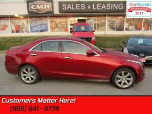 2014 Cadillac ATS 2.0 Turbo  - Sunroof -  Leather Seats