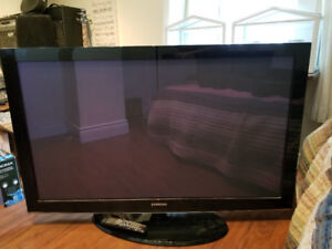 Samsung Plasma TV, Onkyo Surround Sound and TV Stand