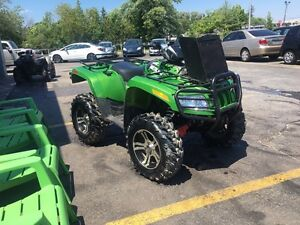 2010 Artic cat mud pro 700 trade for sled