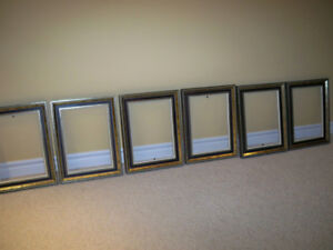 4 identical wooden frames
