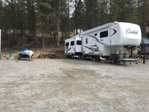 BC - Radium / Invermere Area - Huge RV Lot For Sale, Low Fees