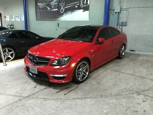 2013 Mercedes-Benz C63 AMG Coupe w/ Performance Package Plus