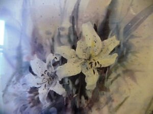 """Wildflower Lithograph, Signed by Brent Heighton """"Spring Lilies"""" Stratford Kitchener Area image 3"""