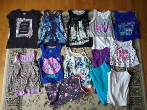 14 Justice Tank tops/ t-shirts  excellent condition sizes 8/10