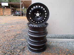 16 inch factory ford winter rims with TPMS sensors