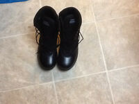 Sz 9.5 Swat Safety Zipside Boots