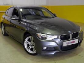 2015 BMW 3 Series 320d M Sport 4dr Step Auto [Business Media] Diesel grey Automa