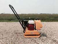 PLATE COMPACTOR FOR RENT