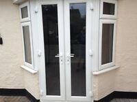 UPVC WINDOWS AND DOUBLE DOOR