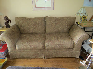 Comfy -Couch & Queen's Chair/will sell separately