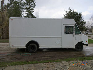 Truck/step van for sale.