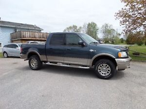 2003 FORD F150 KING RANCH CREWCAB 4X4  - $6490 CERT & E-TEST