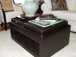 Leather Multi Function Coffe Table