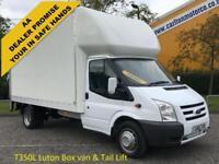 2010/ 10 Ford Transit 100 T350L Luton van+Tail-Lift Roller-Shutter Door DRW