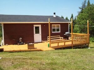 CABIN  below costs!!  Moving out of Province  SALE