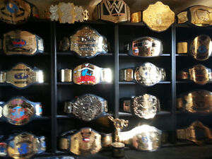 Wanted: WRESTLING REPLICA BELTS WWE WWF WCW ECW TNA UFC
