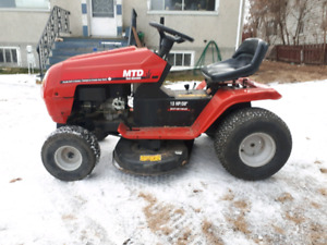 Reduced from $450. MTD Riding Mower $350