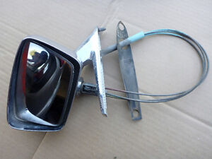 1967 FORD GALAXIE 500 DRIVER SIDE REMOTE MIRROR