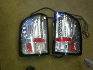 Aftermarket used pair of Silverado LED taillamps Kitchener / Waterloo Kitchener Area image 1