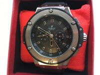 NEW HUBLOT BIG BANG ROLEX CARTIER BREITLING AP AUTOMATIC BEZEL GUCCI FENDI CASIO