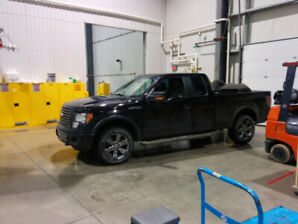 2012 f150 fx4. 5.0L with winter tires and tons of goodies