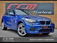 BMW X1 2.0 20D M SPORT xDrive 5DR 2012 FULL HISTORY + WARRANTY + SUEDE INTERIOR