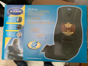 Coussin chauffant dr scholl's