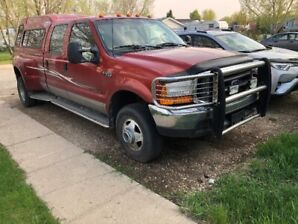 2000 Ford F350 Super Duty, XLT, duly, 7.3 litre, diesel, 4x4
