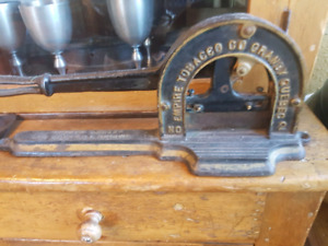 Vintage Tabacco cutter from Quebec