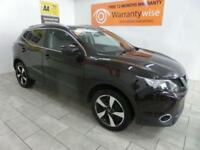 BLACK NISSAN QASHQAI 1.5 DCI N-TEC PLUS ***from £238 per month***