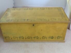 Large Storage Wooden Toy Chest/Boot Box