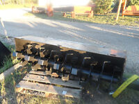 """New Hydraulic Roto Tiller attachment for skid steer 72"""""""