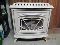 WATERFORD EMERALD NATURAL GAS  B-VENT STOVE