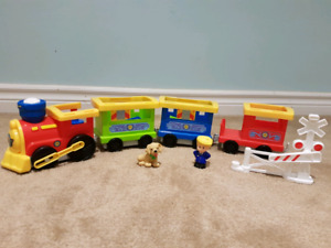 Little People Load and Go Trainset