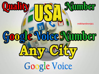 Google Voice  Account sell unlimited