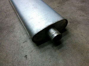 "Classic Car Mufflers - 2"" inlet/outlet - 2 available, like new"