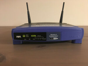 ADSL2+ Modem, Linksys Router and PC/Laptop USB Wi-Fi Adapter