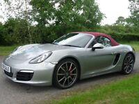 Porsche Boxster 3.4 S (silver) 2014