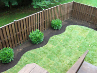 Limited time offer on sod installation starts at $0.80 per sqft