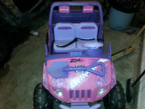 Powerwheels artic cat prowler kids side by side