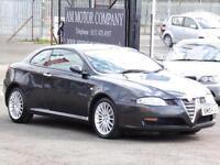 Alfa Romeo GT 1.9JTD 16v, Black, 80 000 Miles, 6 Months AA Warranty, 2004,
