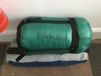 ProAction sleeping-bag, used once