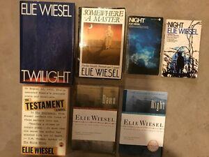 ELIE WIESEL books for sale