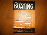 """1961 Royce's Trailer Boating Book  """"The Outboard Bible"""""""