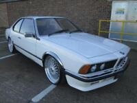 1983 BMW 635I CSI PETROL AUTOMATIC WHITE CLASSIC CAR ONLY GOING UP IN VALUE