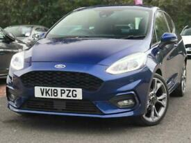 image for 2018 Ford Fiesta Ford Fiesta 1.0 E/B 100 ST-Line 3dr 18in Alloys Hatchback Petro