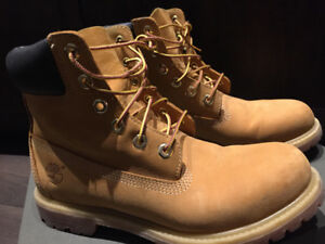 Almost  brand new Timberland boots